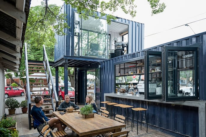 Container cafe image
